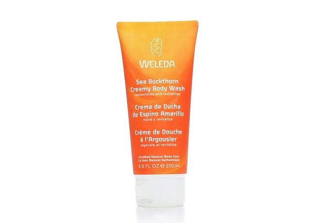 Weleda Sea Buckthorn Creamy Body Wash - 7.2oz