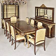 12PC FRENCH EMPIRE DINING SET