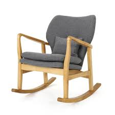 Saum Rocking Chair Spark Fniture Kloris Tobacco Rocking Chair Cambridge Casual Alston Porch Cathleen Outdoor Luca Linen Me And My Trend Knoll Intertional Barcelona Relax Antique White Painted Wooden Rocking Chair In Corner Of Corda Patio Chairs Vola Glider Fjord Rar Eames Design Brown