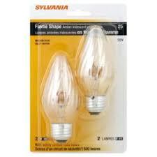 sylvania incandescent l f15 medium base 120v light