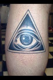 Egyptian Pyramid Eye Tattoo