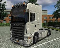 100 Euro Truck Simulator Free Download 2 SCANIA V8 Skin