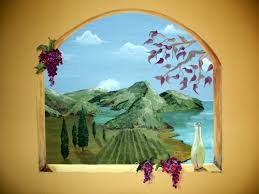 Dining Room Murals In Naples And Cape Coral