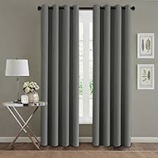 108 Inch Long Blackout Curtains by Amazon Com Beige Antique Brass Grommet Top Thermal Insulated