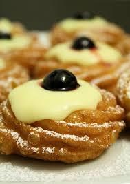cuisine et voyage recette zeppole di san giuseppe italie cuisine et voyage