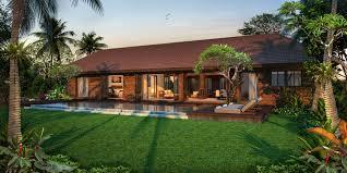 100 Bali Villa Designs By SHL Asia Use Brick As The Main Material