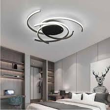 kreative moderne led deckenleuchten wohnzimmer schlafzimmer studie balkon innen beleuchtung schwarz weiß aluminium decke le leuchte