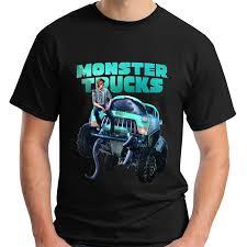 New Monster Truck New Movie Short Sleeve Black Men'S T Shirt Size S ...