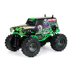 New Bright Full Function Monster Jam Grave Digger Radio Controlled ... New Bright Monster Jam Radio Control And Ndash Grave Digger Remote Truck G V Rc Car Jams Amazoncom 124 Colors May Vary Gizmo Toy 18 Rc Ff Pro Scorpion 128v Battery Rb Grave Digger 115 Scalefreaky Review All Chrome Scale Mega Blast Trucks Triangle By Youtube 1530 Pops Toys New Bright Big For Monster Extreme Industrial Co
