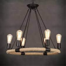 PhotoRope Chandelier Pendant Light Restoration Hardware Light Lamp