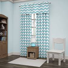 Ellery Homestyles Blackout Curtains by Eclipse Thermaback Blackout Wavy Chevron Curtain Panel Walmart Com