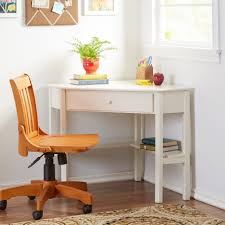 Wayfair Corner Desk White by Writing Desk With Shelves