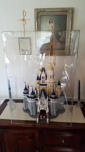 OtherMy Mom Has A Custom Acrylic Display Case For Her Disney Castle