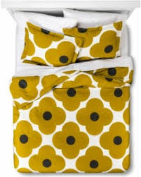 Hot Winter Deals  f Orla Kiely Spot Flower Duvet Cover