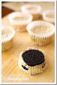 Mini Oreo Baked Cheesecakes