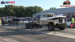 Mater Vs Black Knight At Truck Warz Tug Of War 2016 - YouTube