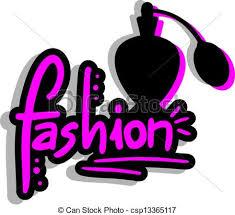 Creative Design Of Fashion Perfumed Vector Clip Art