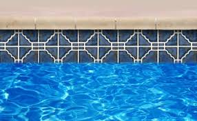 remarkable glass tile pool slide with swimming pool cantilever