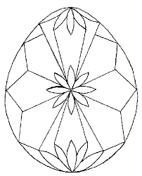 Easter Eggs Coloring Pages 2