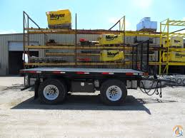 Flatbed Pup Trailers In Kansas City!! Pup Trailer MYNATT 16SA Mynatt ...
