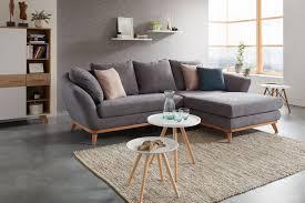wohnlandschaft in grau bestellen wohnzimmer design