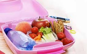 Childs Health Lunchbox Open On Desk