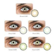 Prescription Colored Contacts Halloween Uk by Colored Contact Lenses Ebay