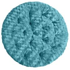 Pier One Round Chair Cushions by Fuzzy Teal Papasan Cushion Pier 1 Imports