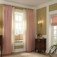 Modern Window Curtains For Living Room by Window Treatments For Bay Windows To Consider