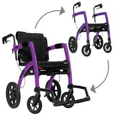 Transport Chair Or Wheelchair by Rollz Motion Rollator Walker And Transport Chair In One