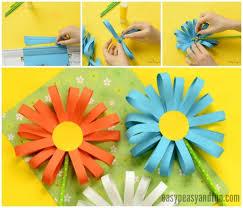 Craft Making Flower Paper