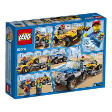 Amazon.com: LEGO City Great Vehicles Dune Buggy Trailer: Toys & Games