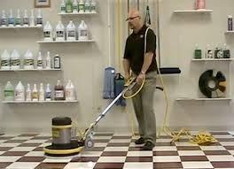 floor buffer scrubbing