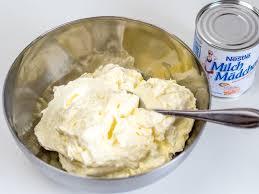 karamell milchmädchen buttercreme