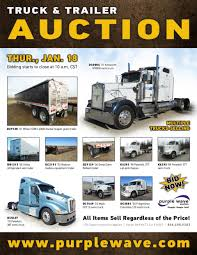 SOLD! January 18 Truck And Trailer Auction | PurpleWave, Inc. Wner Enterprises Wern Presents At Cowen 10th Annual Global Transporting Venturi Buckeye Bullet Truck Line Sacramento Center Hours In Ca California Cowan Systems Llc Baltimore Md Rays Photos Crst Intertional Cedar Rapids Iowa 8 Unique Gift Ideas For Your Drivers Modern Logistics West Of St Louis Pt 7 Georgia And Florida Accident Attorney Daseke Dske Transportation Trucking Company Lepurchase Scams Youtube Cowansystemsllc Twitter