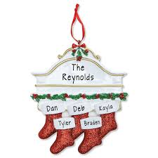Stockings On Mantel Personalized Christmas Ornament Current Catalog