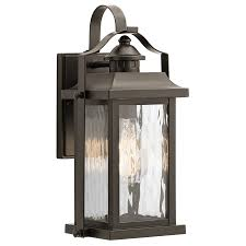 l kichler outdoor wall lighting large outdoor wall sconce