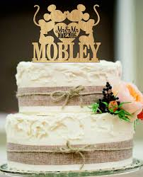 Large Custom Personalized Tree Stump Wedding Cake Topper
