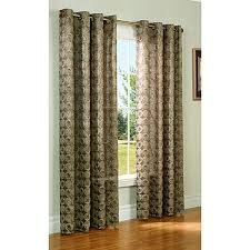 Boscovs Kitchen Curtains by Mayan Jacquard Grommet Panel Boscov U0027s