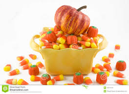 Halloween Candy Dishes by Halloween Candy Corn And Pumpkin Stock Photos Image 12011913