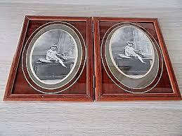 bureau d olier ancien en bois 1 place cadres photos anciens beaux cadres bois photos signees vergnol