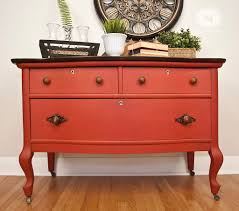Vintage Tiger Oak Dresser by The Pros And Cons Of Painting Salvaged Furniture Salvaged