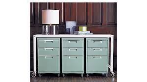 tps mint 3 drawer file cabinet cb2