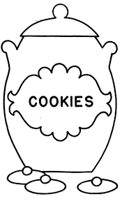 Drawing Cookie Jar Coloring Pages
