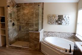 Tiling A Bathtub Deck by A Beautiful Bathroom Remodel Featuring An All New Tiled Shower