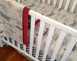 pottery barn vintage airplane crib bedding Airplane Crib Bedding