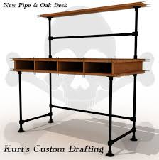 DIY Pipe Desk Plans Table Ideas And Inspiration
