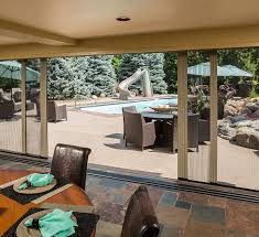 Roll Up Patio Screens by Larson Storm Doors Retractable Screen Doors