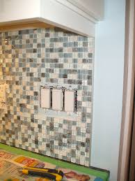 mosaic tile backsplash trim