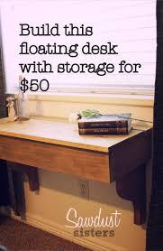 Diy Floating Desk Ikea by 25 Best Floating Desk Ideas On Pinterest Industrial Kids
